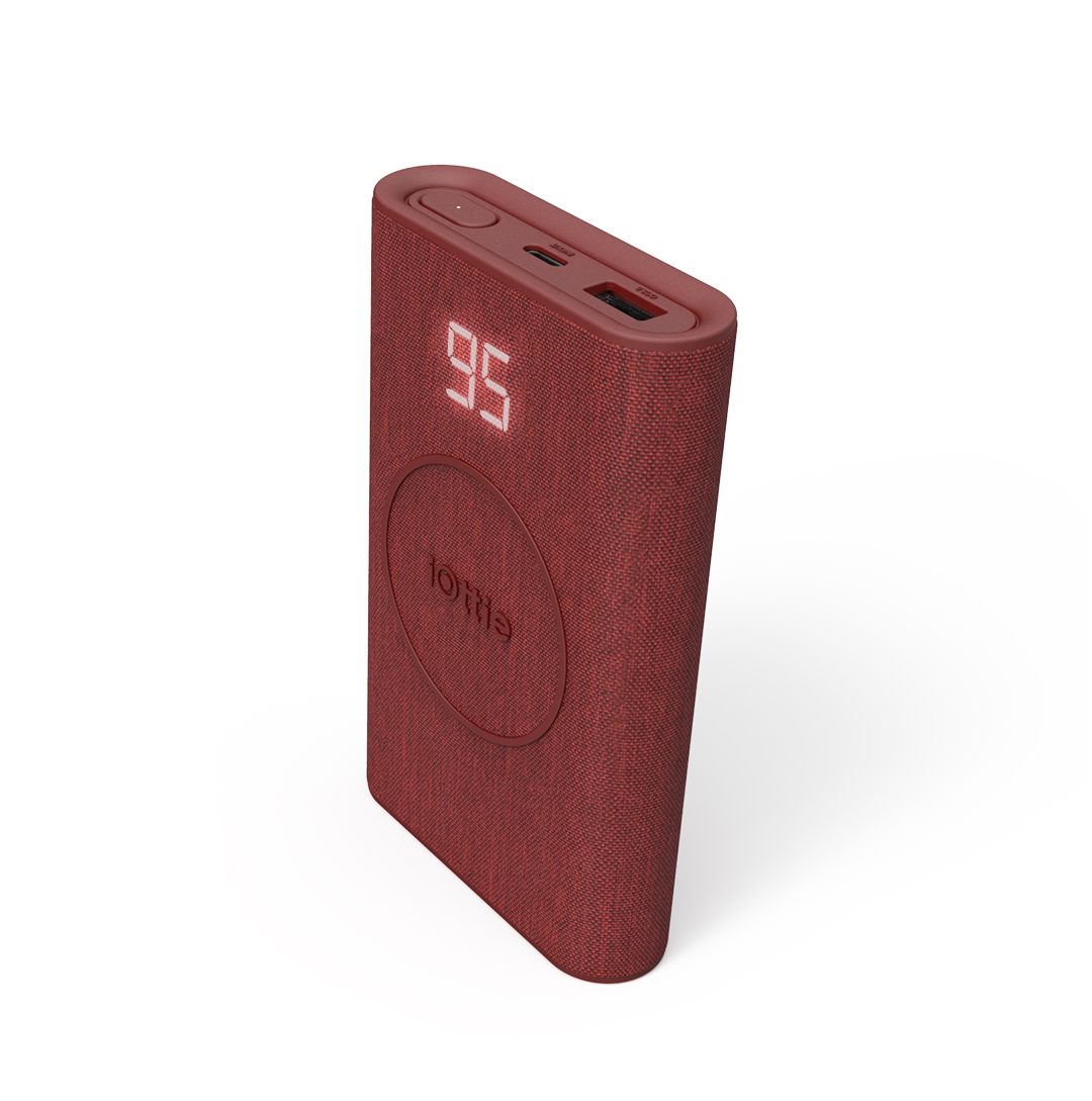 Ruby Wireless Go Power Bank